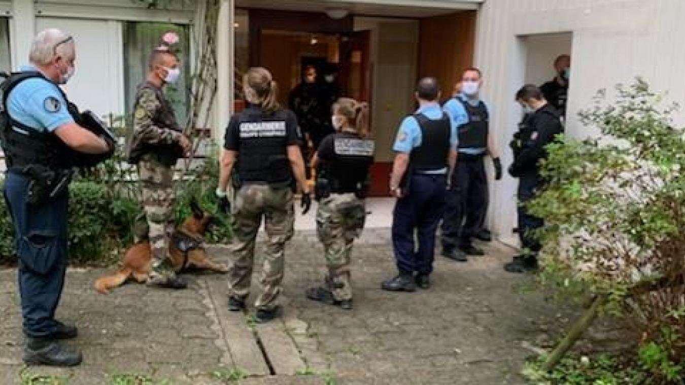 Les gendarmes ont lancé l'opération à 6 heures du matin, mardi 22 septembre dans ces quartiers de Seynod.
