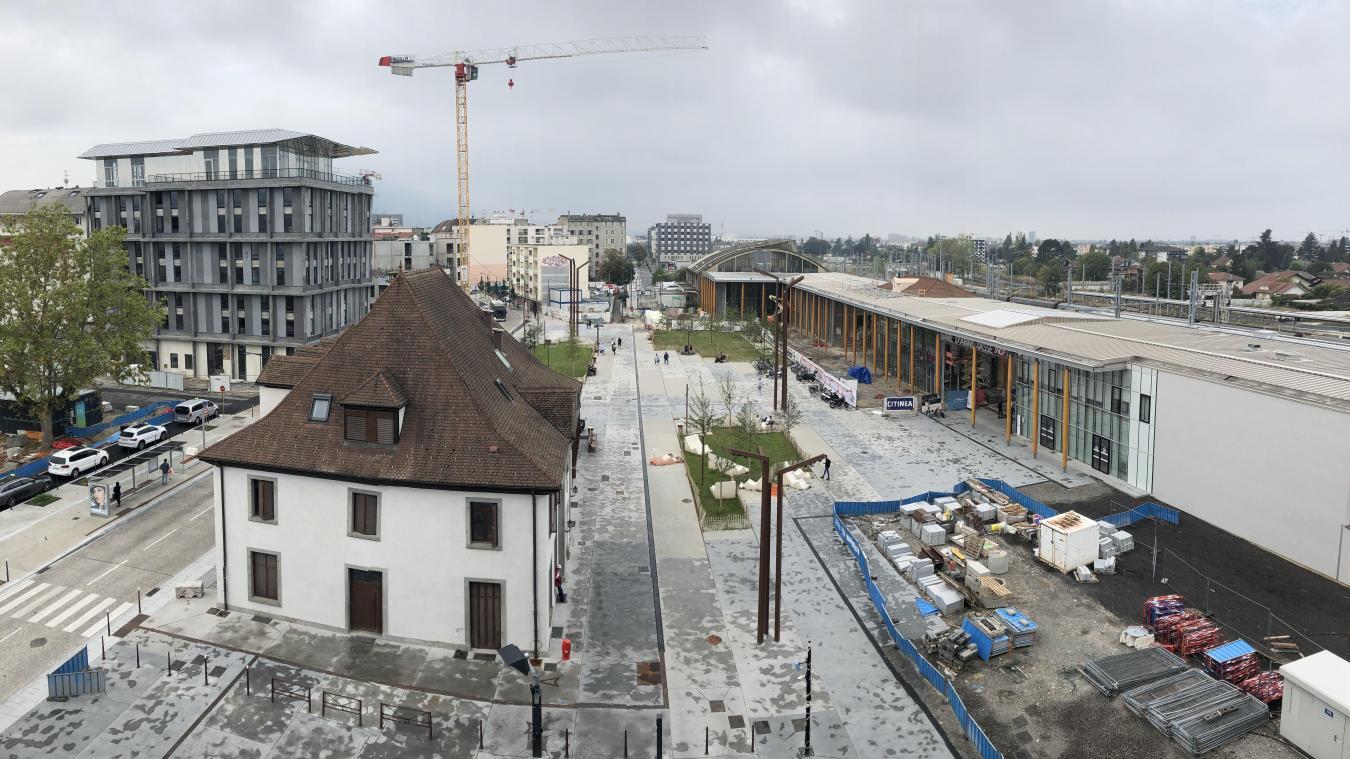 Le tunnel sera opérationnel dès le mardi 29 septembre à la gare d'Annemasse.