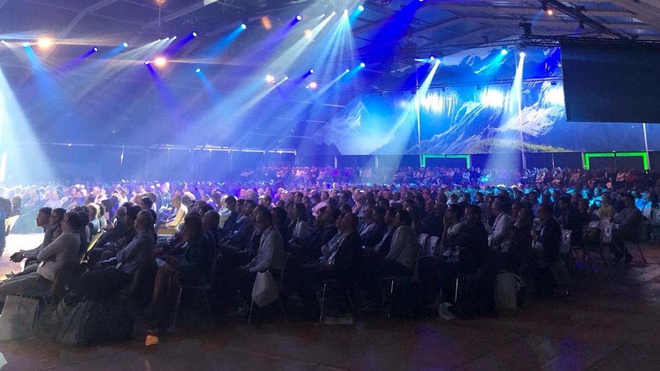 Plus de 5000 congressistes s'étaient réunis en septembre 2019 à Annecy pour la convention de l'Association Progrès du Management. Twitter / APM