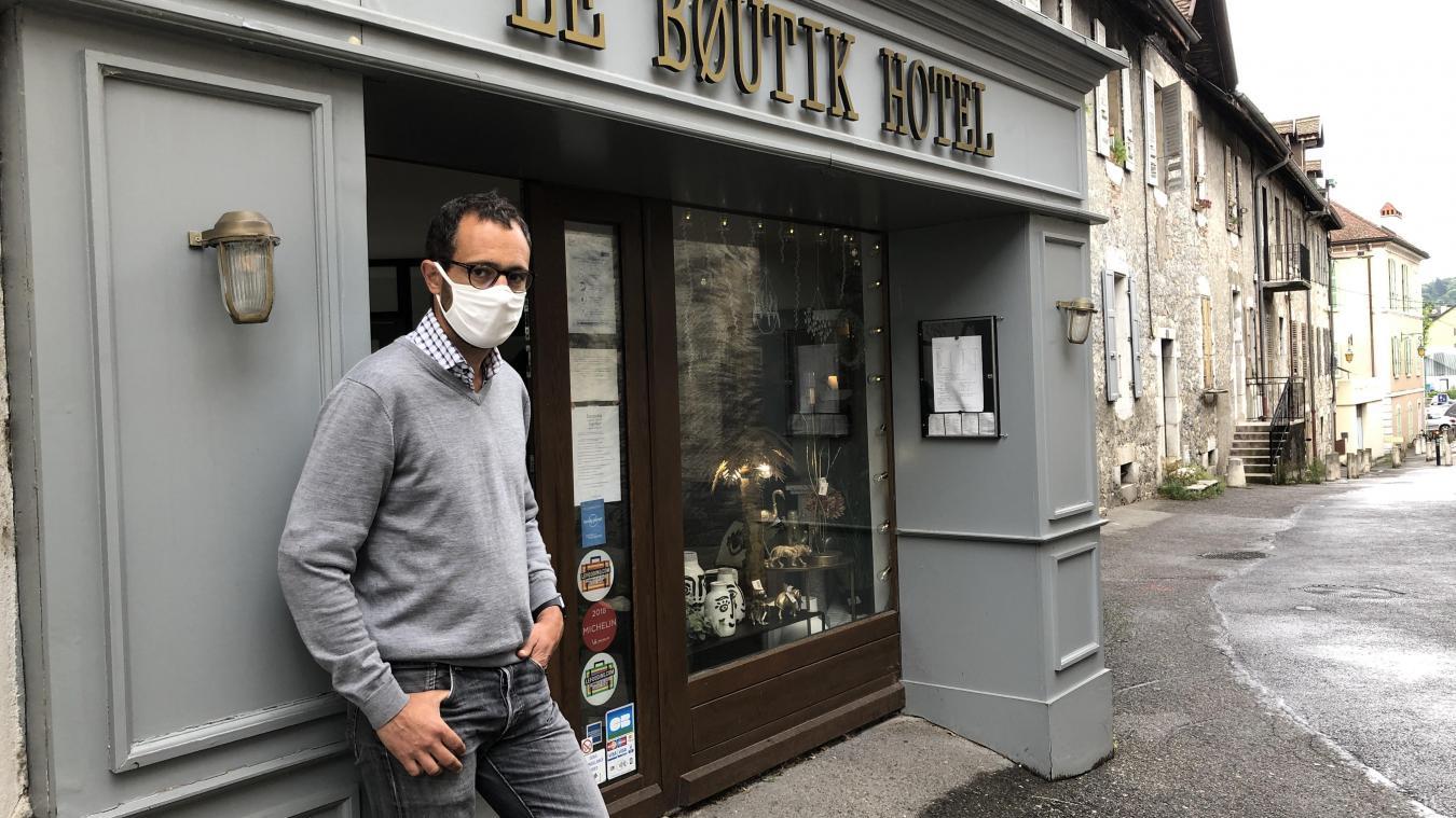 D'après l'hôtelier Benoît Lange, normalement en automne à Annecy, 60 % de la fréquentation provient d'une clientèle d'entreprises et 40 % de loisirs.