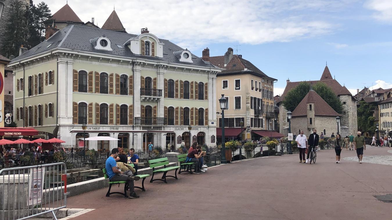 Le centre-ville d'Annecy a fait l'objet de nombreuses plaintes d'habitants auprès de la mairie cet été. Plus qu'à l'accoutumée.