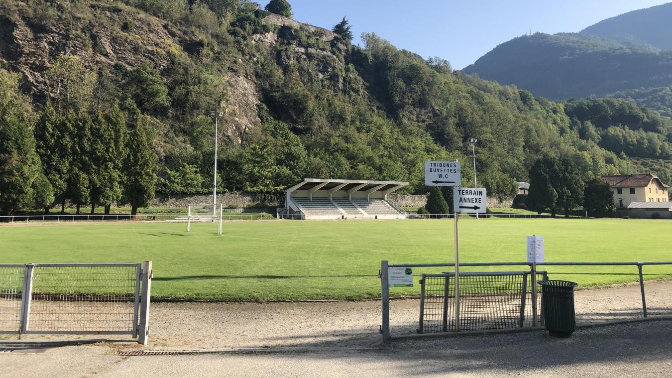 C'est au-dessus du stade municipal Jo Fessler qu'un filet de protection sera installé en fin d'année pour pallier au problème d'éboulements.
