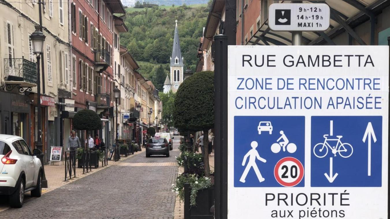 La rue Gambetta, zone de rencontres pas toujours très agréables...