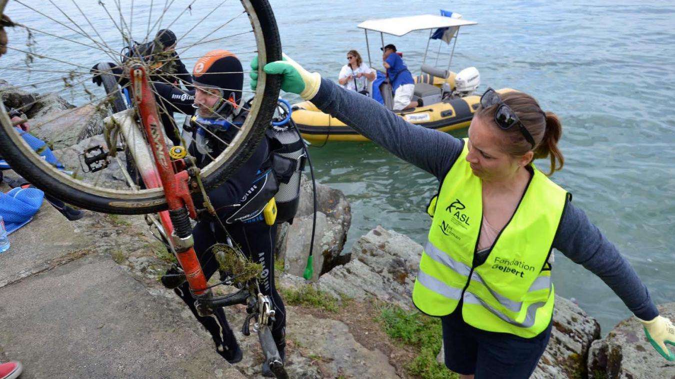 Une quinzaine de clubs de plongée participent à l'opération.