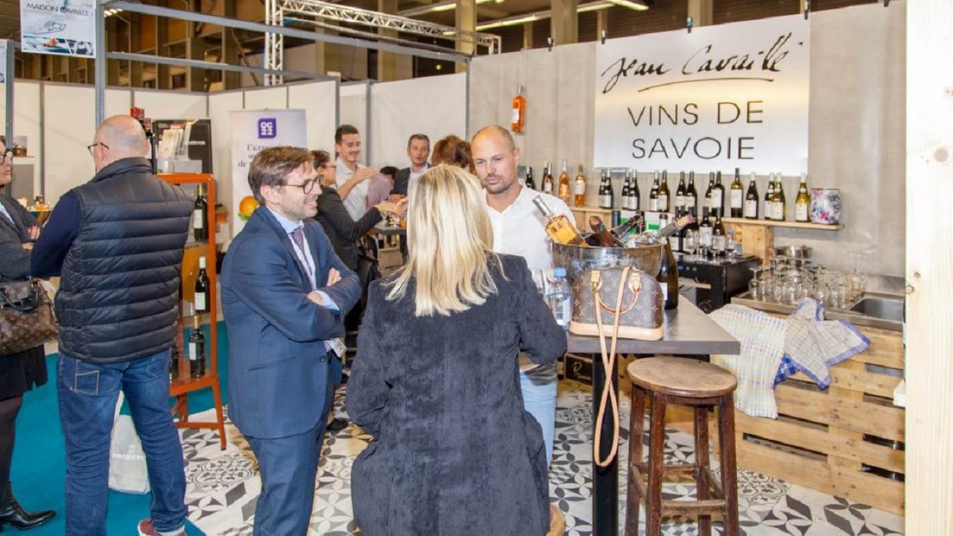 C'est la première fois qu'Horecalpes se tient à Annecy. La première édition du salon avait été organisée en 2018 à Megève.