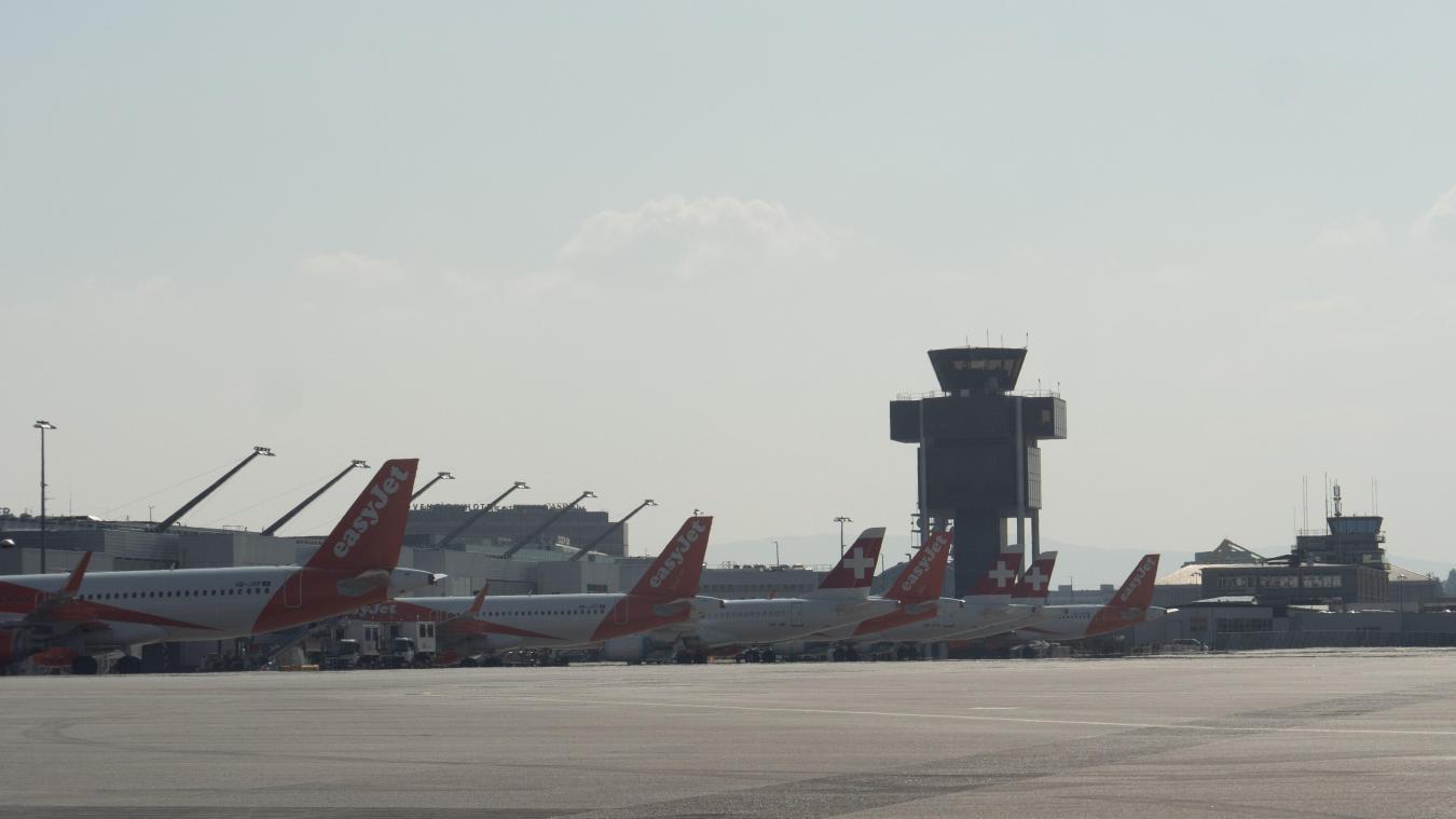 Le trafic aérien à l'aéroport de Genève avait entamé une remontée en juillet et début août, avant de décliner de nouveau. ©Genève Aéroport