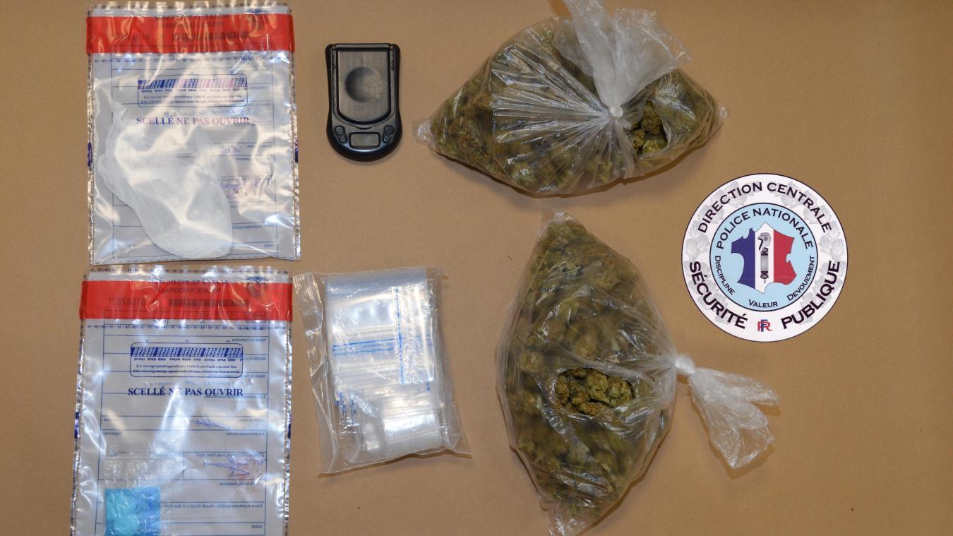 Lundi 21 septembre, un dealer a été arrêté avec 200 grammes d'herbe dans sa voiture, dans l'agglomération d'Annemasse.