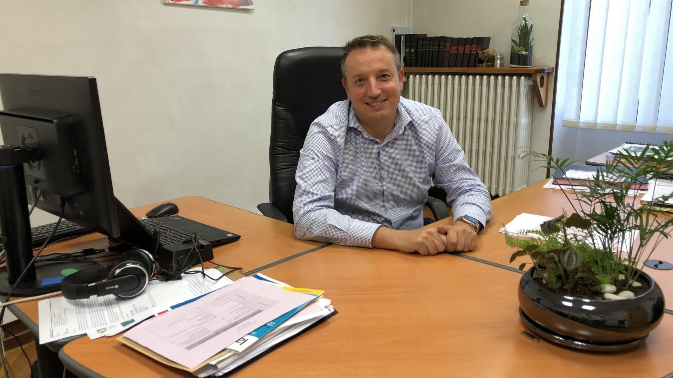 Six mois après son élection, Christophe Péry, le nouveau maire de Marignier, présente les enjeux du mandat.