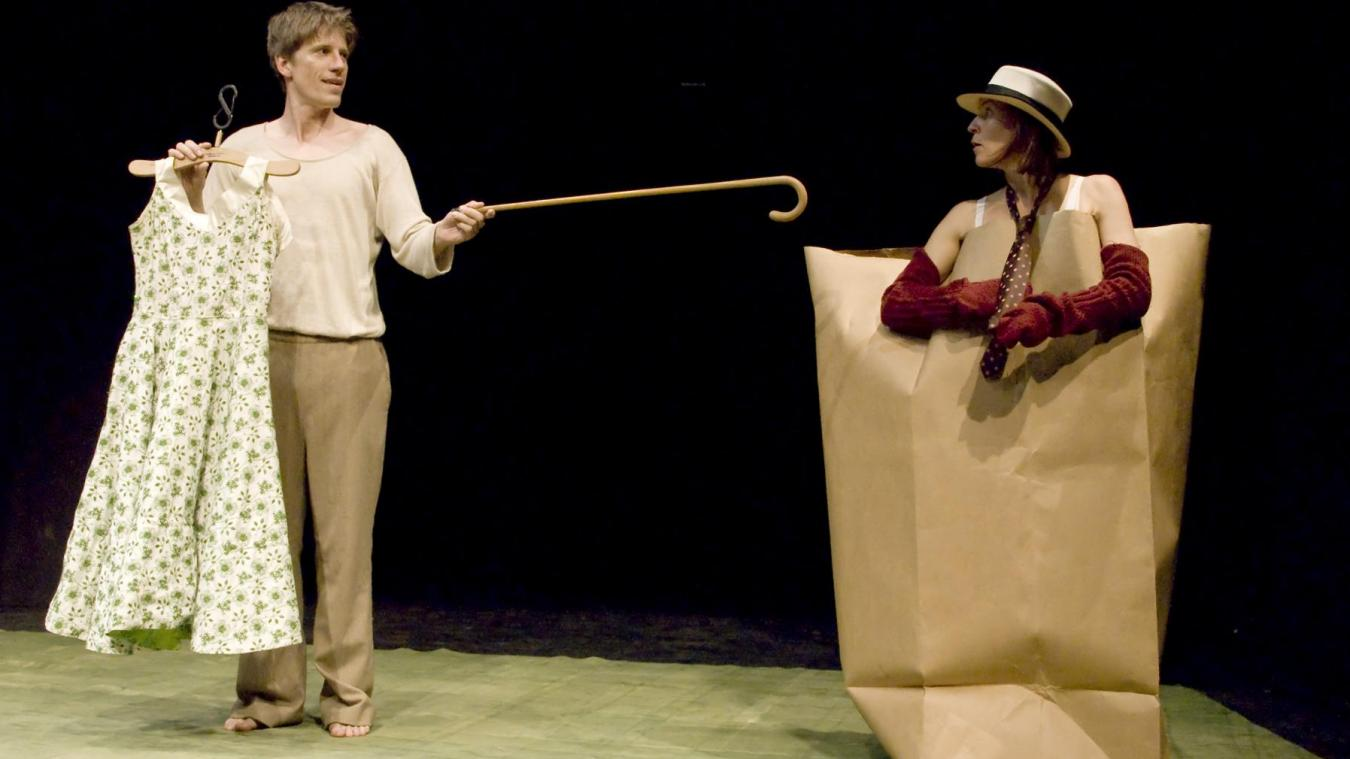 Le spectacle de théâtre musical Des(Habillages) vient tout droit d'Allemagne.