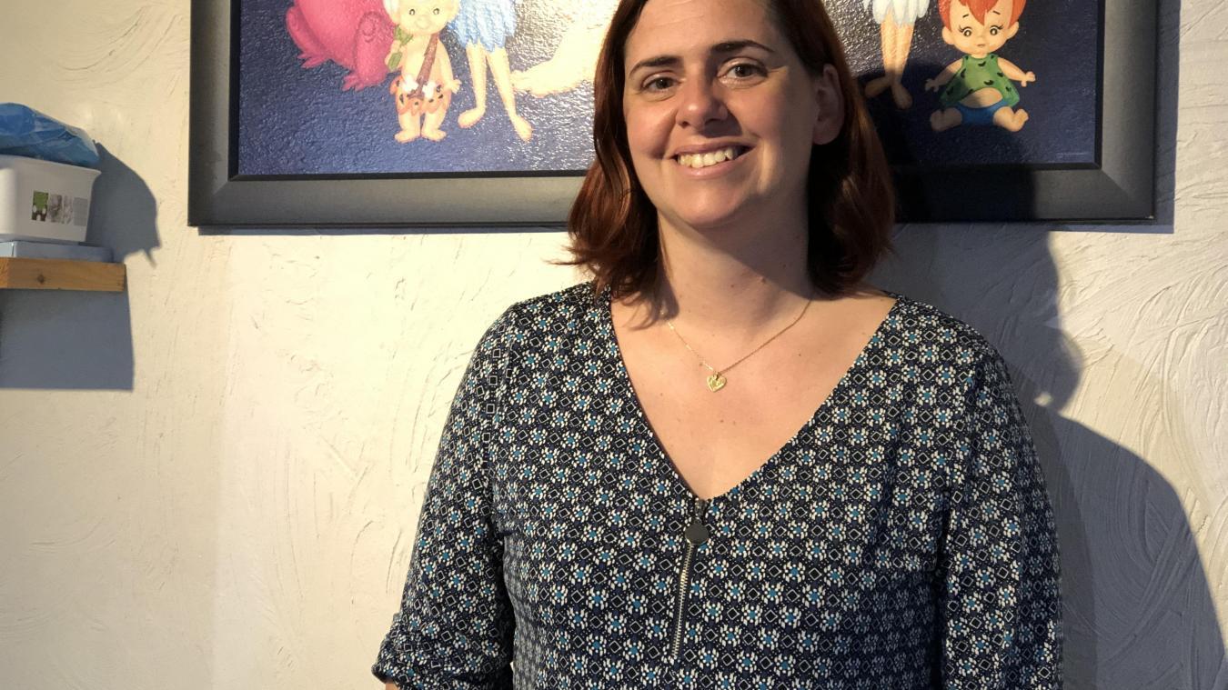Cyrielle Fougeray est présidente de l'association Les P'tits Cabris et instigatrice du projet.