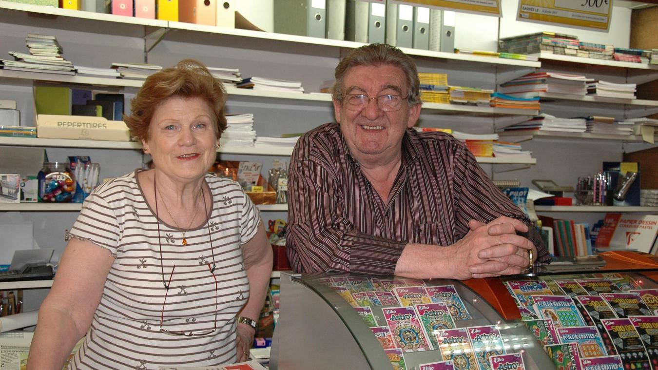 Ingeborg et Lucien Favrot se sont connus en 1961, ils se sont mariés en 1966. Photo prise en juin 2013 - Archives La Tribune Républicaine.