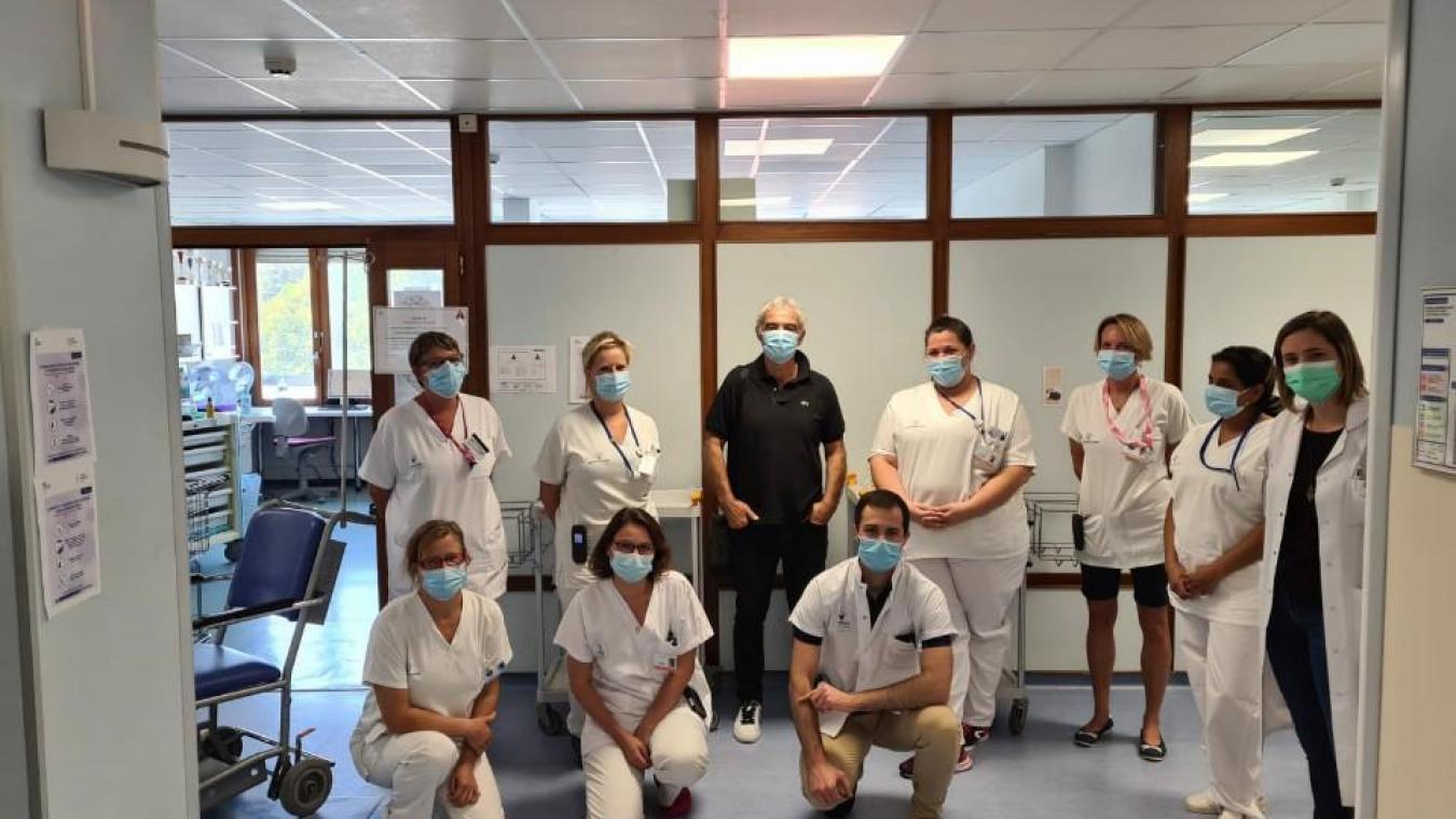 Thonon : la touchante lettre de Raymond Domenech pour remercier le personnel de l'hôpital