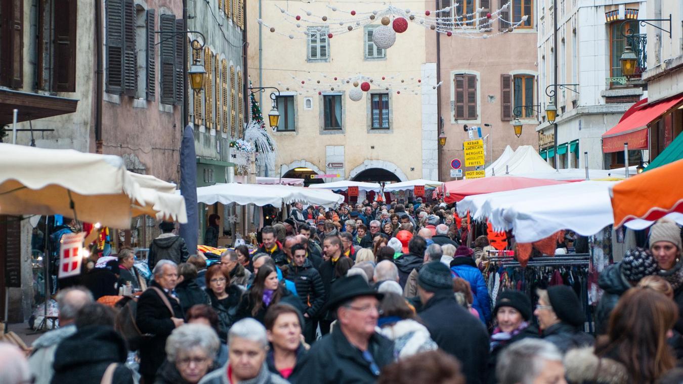 Événement emblématique à Annecy chaque début du mois de décembre, la foire de la Saint-André 2020 n'aura pas lieu.