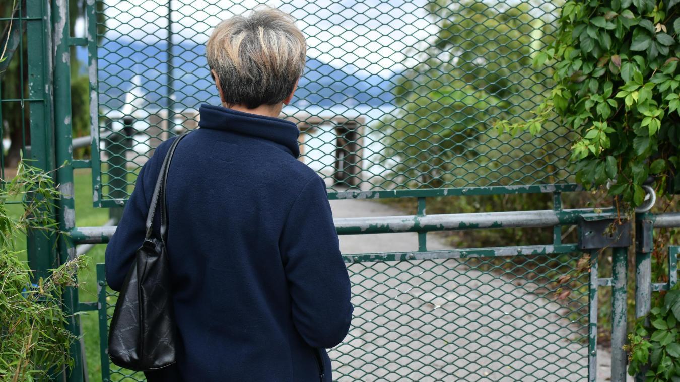 Si les berges du lac sont largement accessibles à Annecy,  ce n'est pas le cas des abords de l'Impérial.
