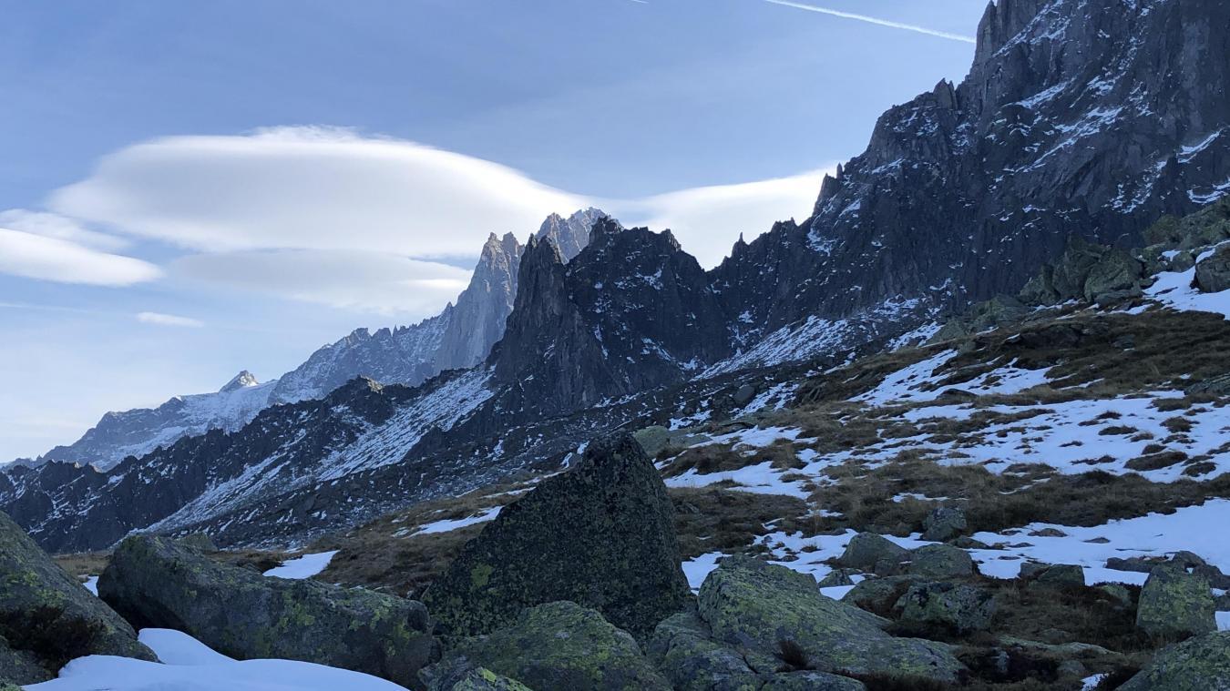 Bérangère Abba, secrétaire d'État chargée de la biodiversité, en visite à Chamonix