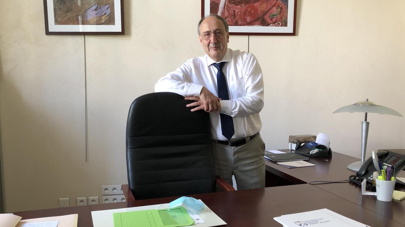 En cette rentrée universitaire, Denis Varaschin observe « une dégradation lente mais certaine de la situation sanitaire ».