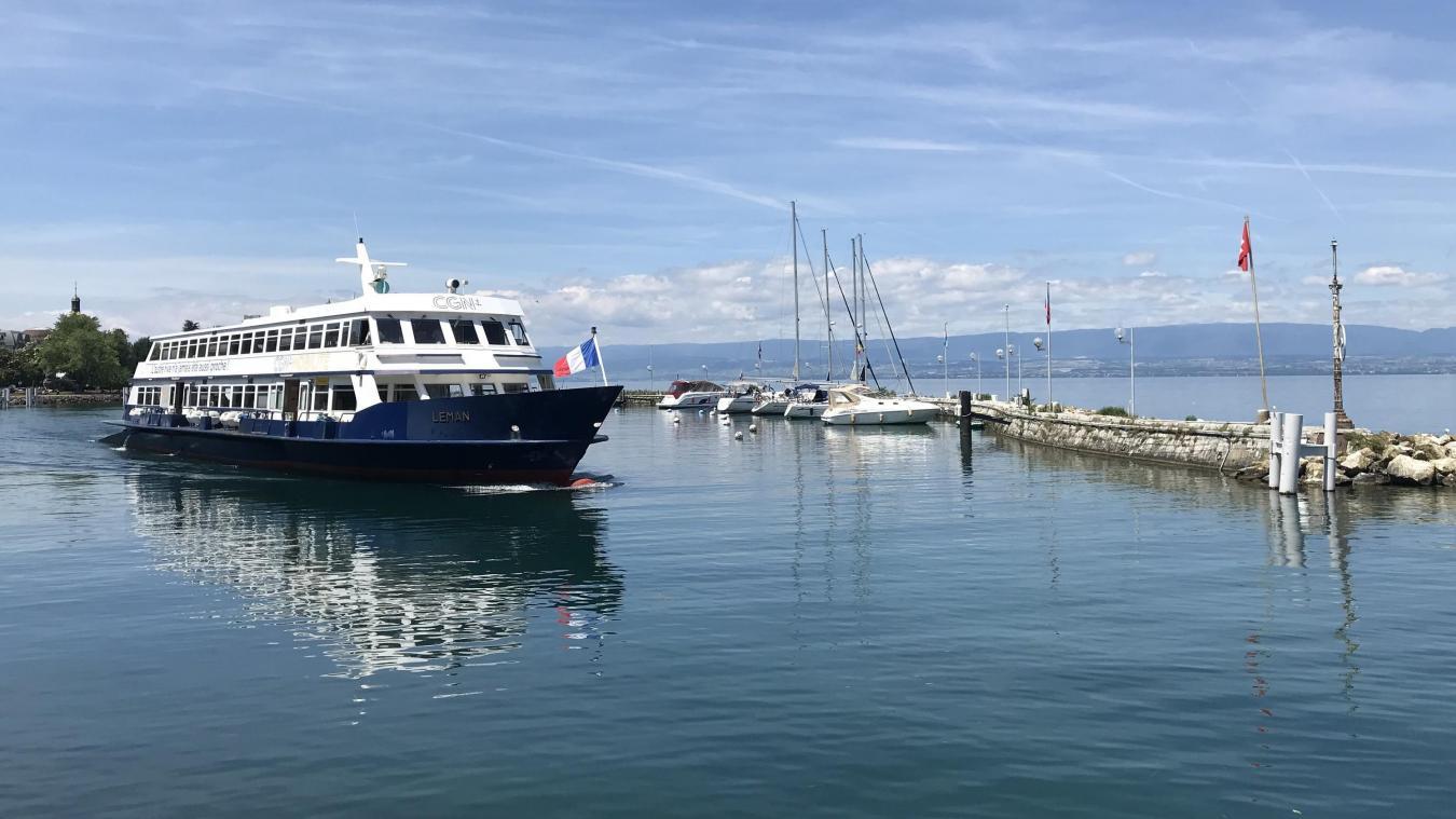 Evian/Lausanne : des bateaux et des bus supplémentaires pendant un mois