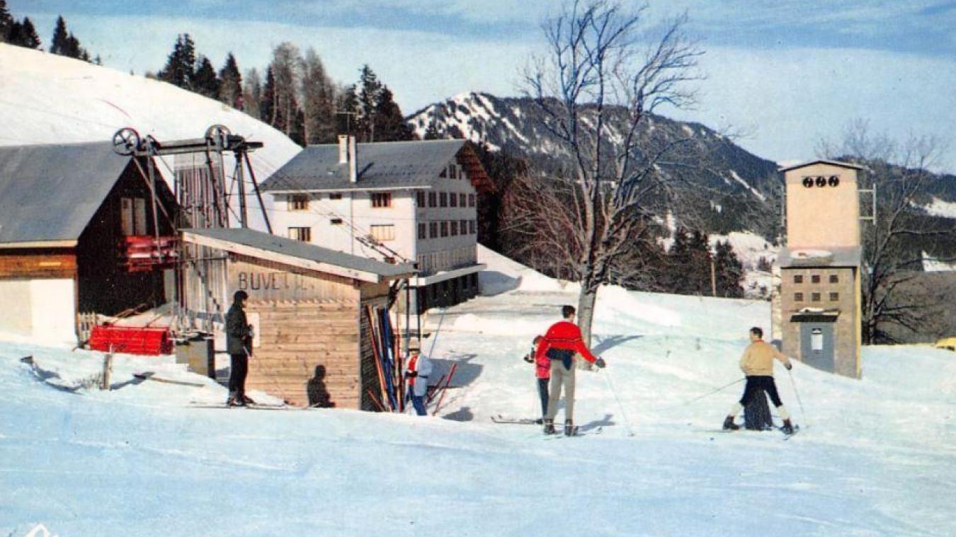 Avant le ski, les montagnes de Bellevaux étaient principalement utilisées pour les alpages et peu exploitées en hiver.