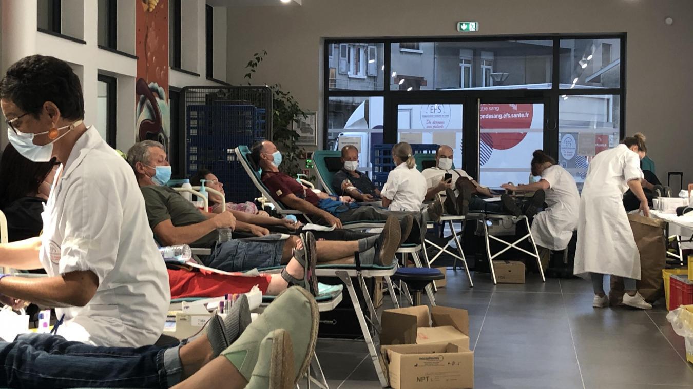 Bellegarde/Péron : les donneurs de sang se mobilisent en masse