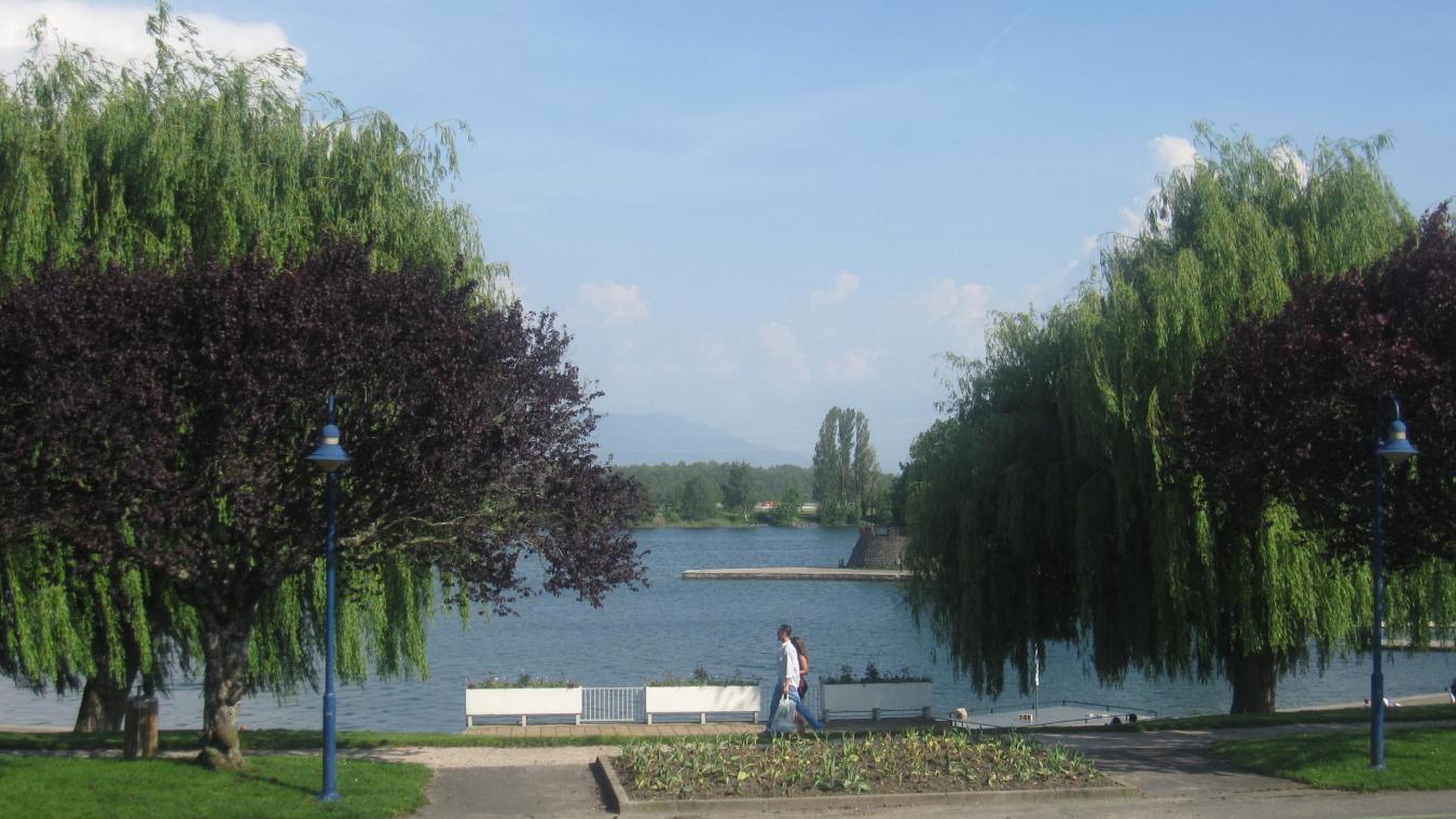 Les athlètes olympiques pourront s'entraîner au lac de Divonne-les-Bains.
