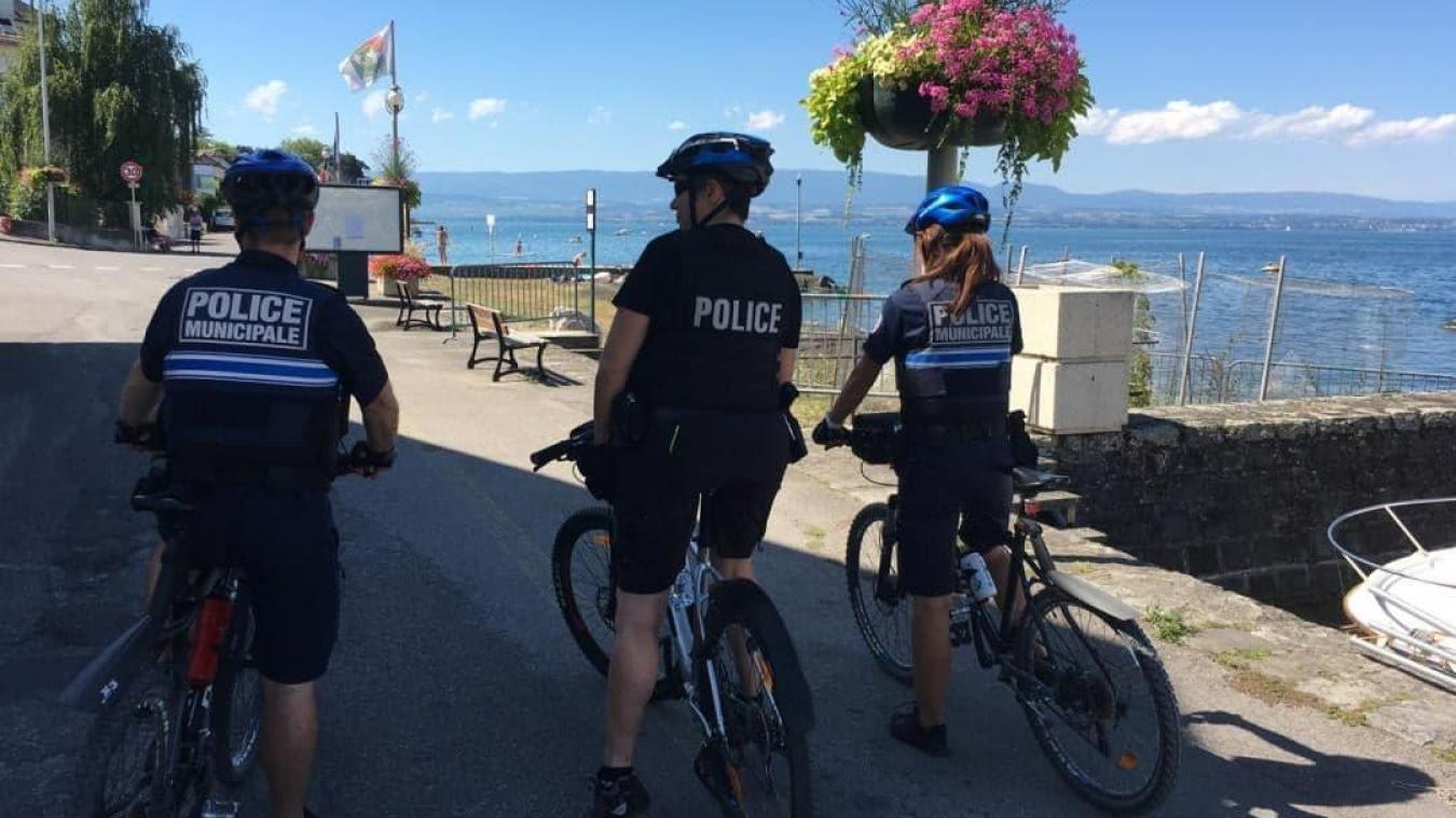 La police municipale a réalisé des rondes cet été avec sa consœur nationale.