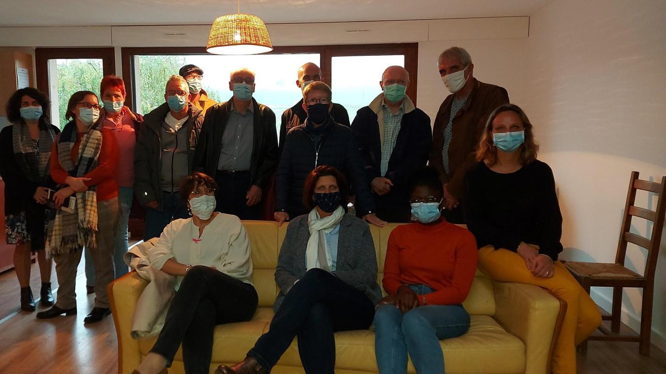 Vendredi 2 octobre, les élus et responsables de la Mission Locale Chablais ont inauguré la colocation de Loisin.