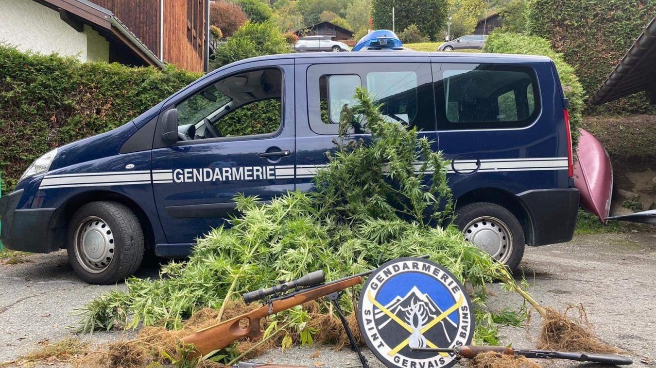 Belle récolte pour les gendarmes saint-gervolains.