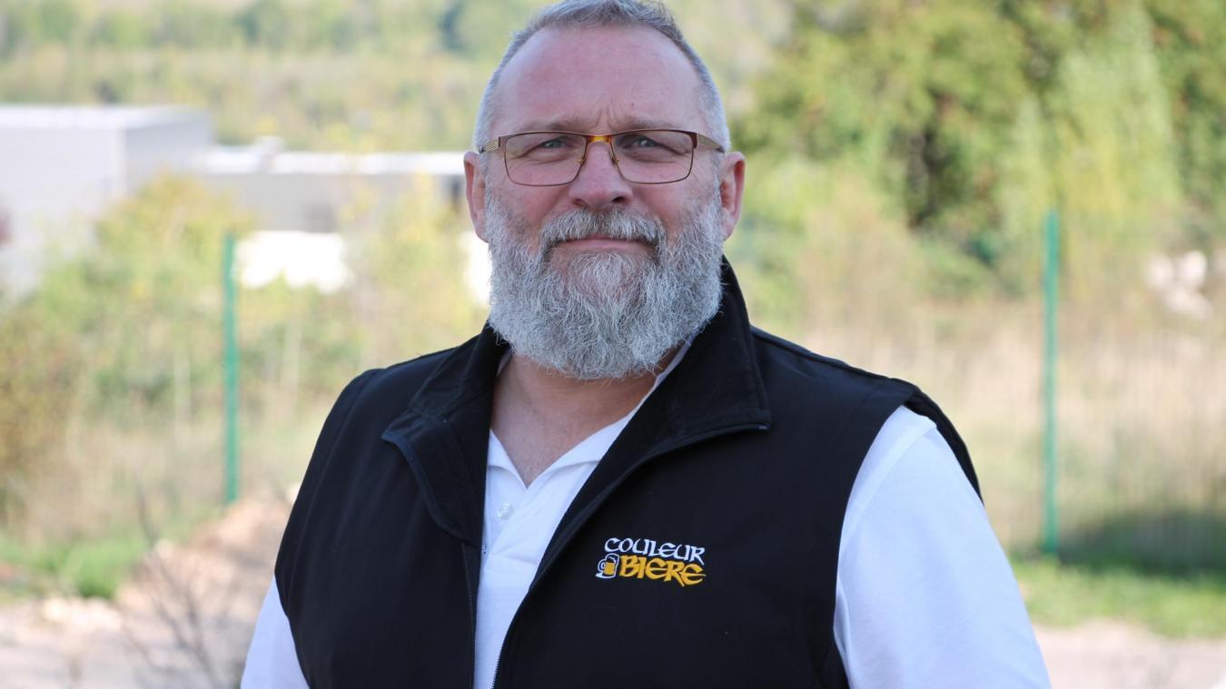 Jean-Yves Gay, patron de Couleur Bière by Coste, est membre de l'Ucob depuis 2018.