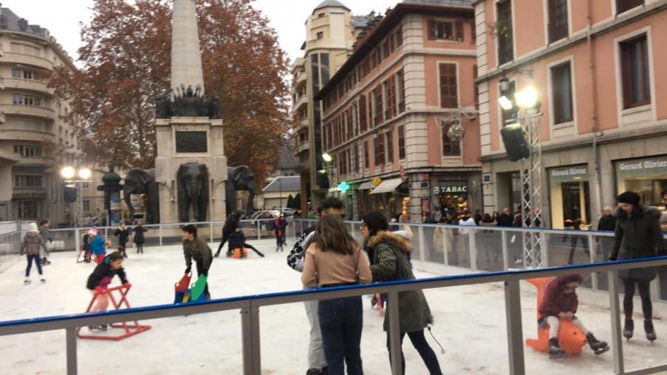 Chambéry : pourquoi il n'y aura pas de patinoire sur la place des Éléphants cette année