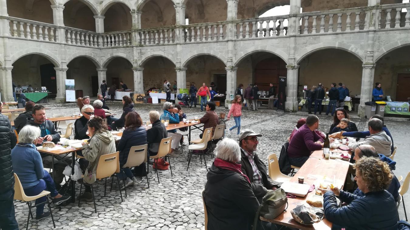 Une précédente édition avait eu lieu au château de Clermont.