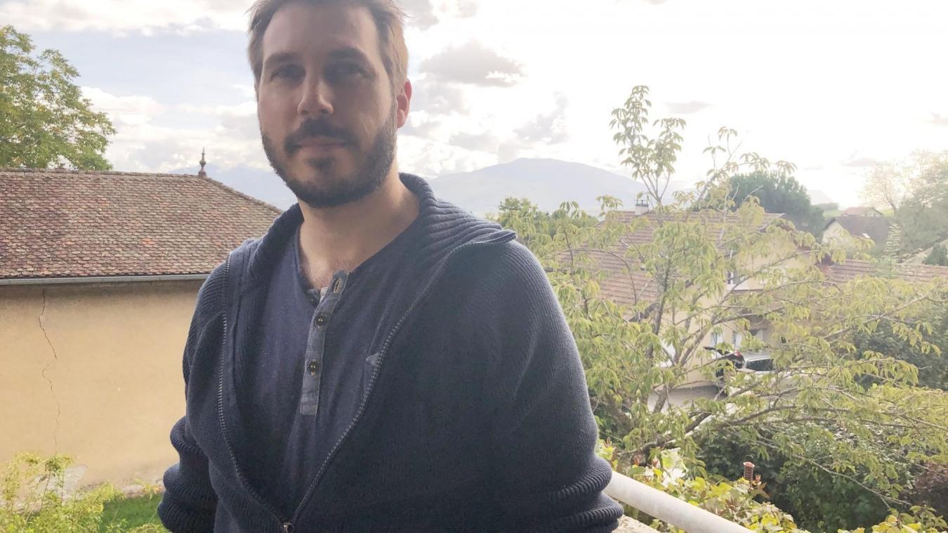 Xavier Osternaud réside depuis deux ans à Pringy, une commune dans laquelle il aime se promener, notamment du côté de Ferrière.