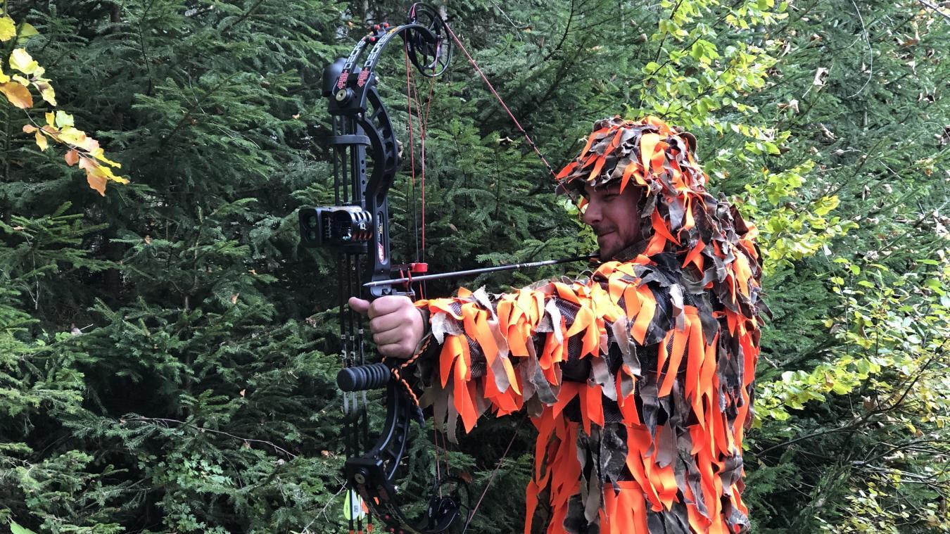 Anthony Benand est président de l'association communale de chasse de La Chapelle-d'Abondance et vice-président de l'association de chasse à l'arc.
