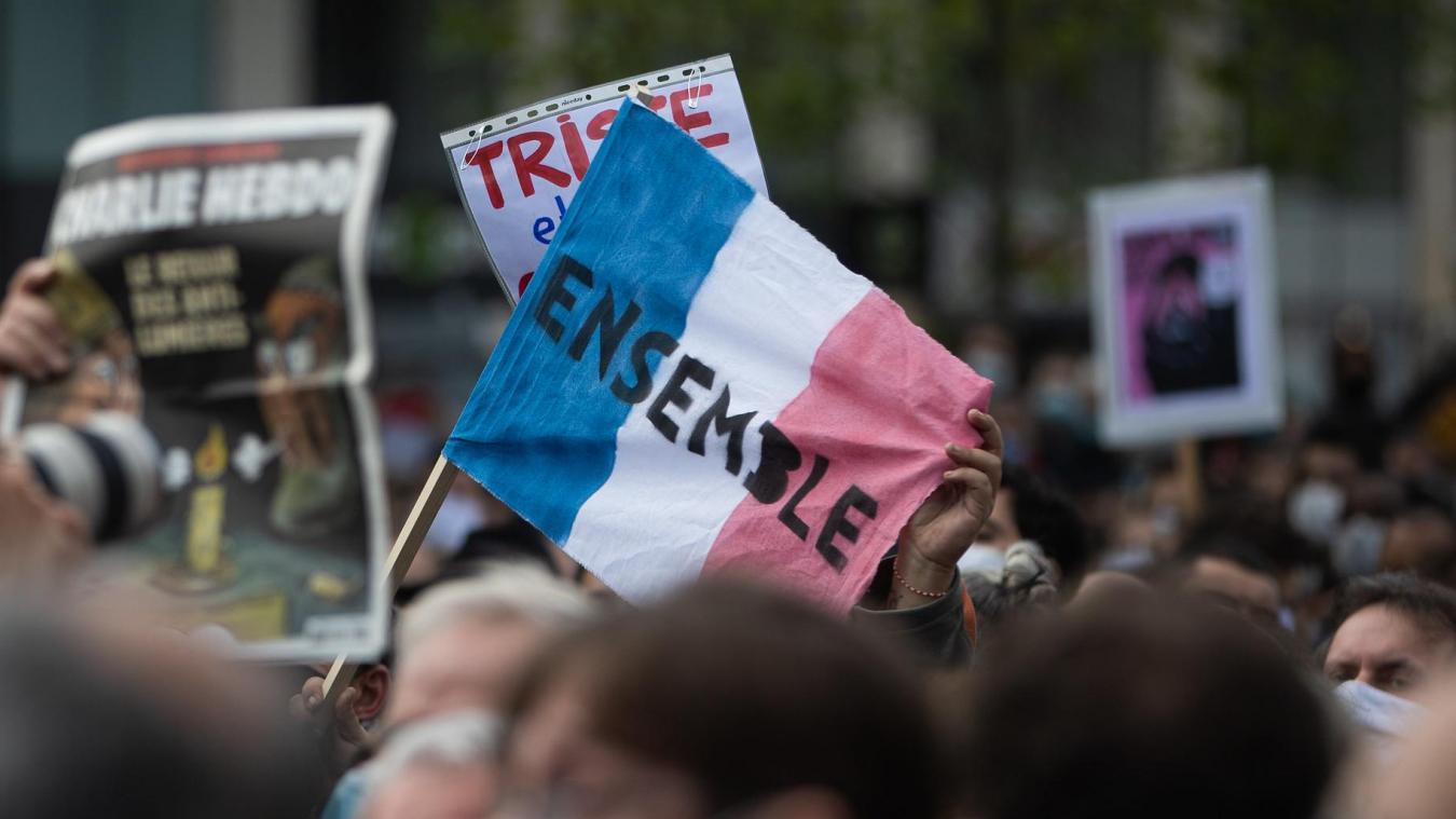 Plusieurs manifestations ont déjà eu lieu en France, notamment pour défendre la liberté d'expression et d'enseignement.