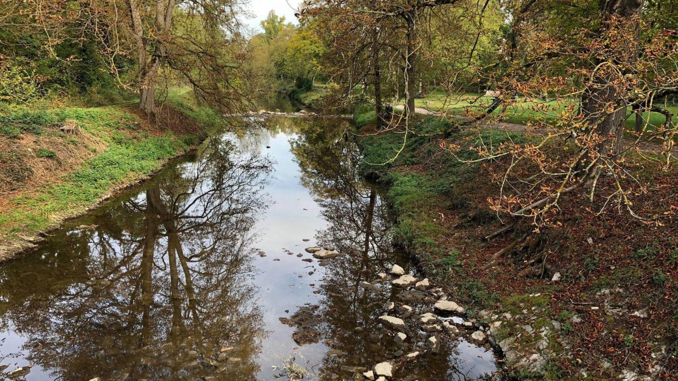 Une rivière pas si tranquille.