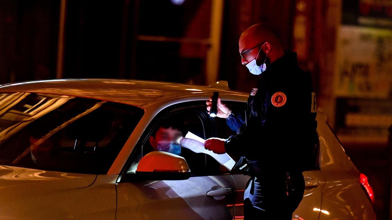 Des contrôles d'attestations auront lieu lors de vos déplacements aux heures de couvre-feu.