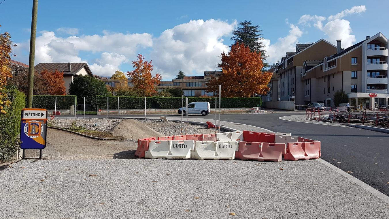Les travaux vont bon train à Saint-Julien-en-Genevois.
