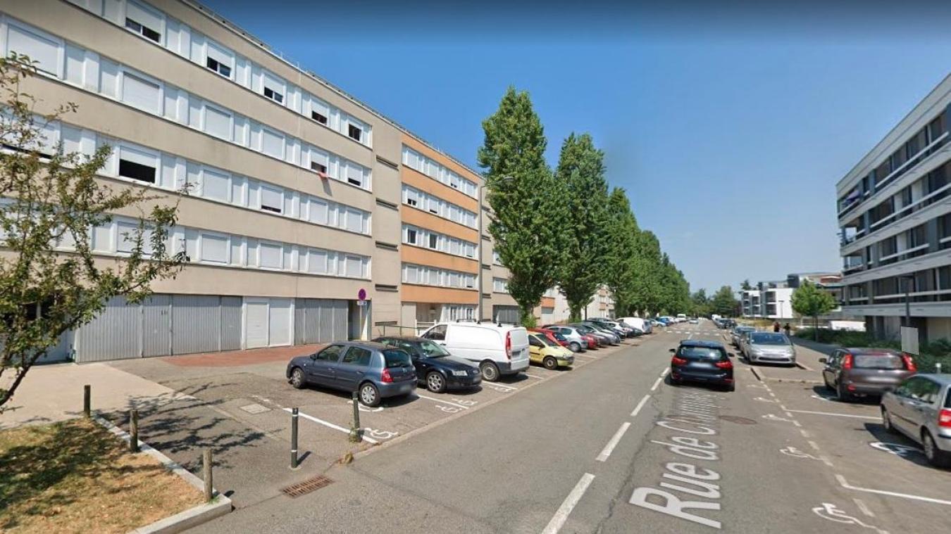 Le drame s'est produit rue de Champagne à Chambéry.