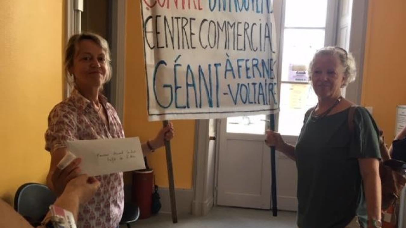 Le 6 juillet dernier, l'association s'est rendue, avec le collectif Stop au projet Open de Saint-Genis-Pouilly, à la préfecture de l'Ain à Bourg-en-Bresse.