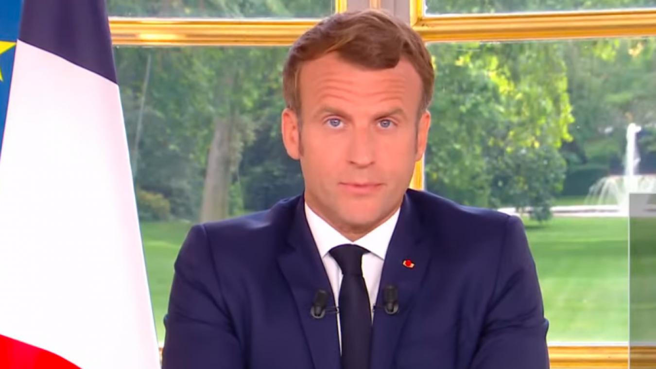 Emmanuel Macron s'est adressé aux Français mercredi 28 octobre.