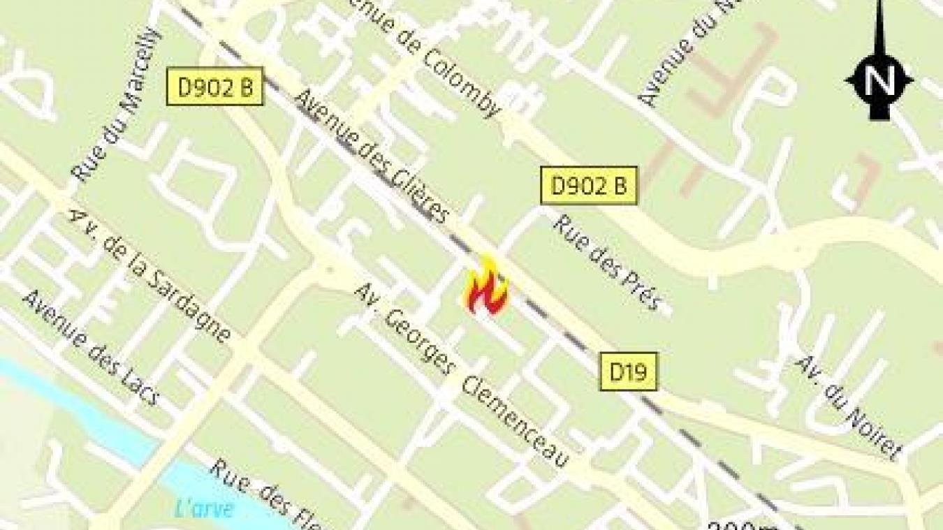 Vendredi 30 octobre, à 1h47 du matin, les sapeurs pompiers sont intervenus pour un incendie, à Cluses.