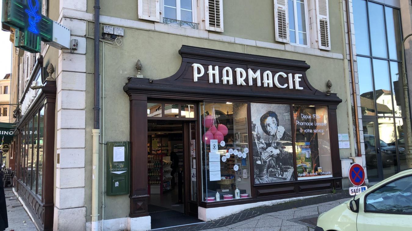 La pharmacie Lansard va mettre en place un test Covid par drive, à partir du 4 ou 5 novembre.