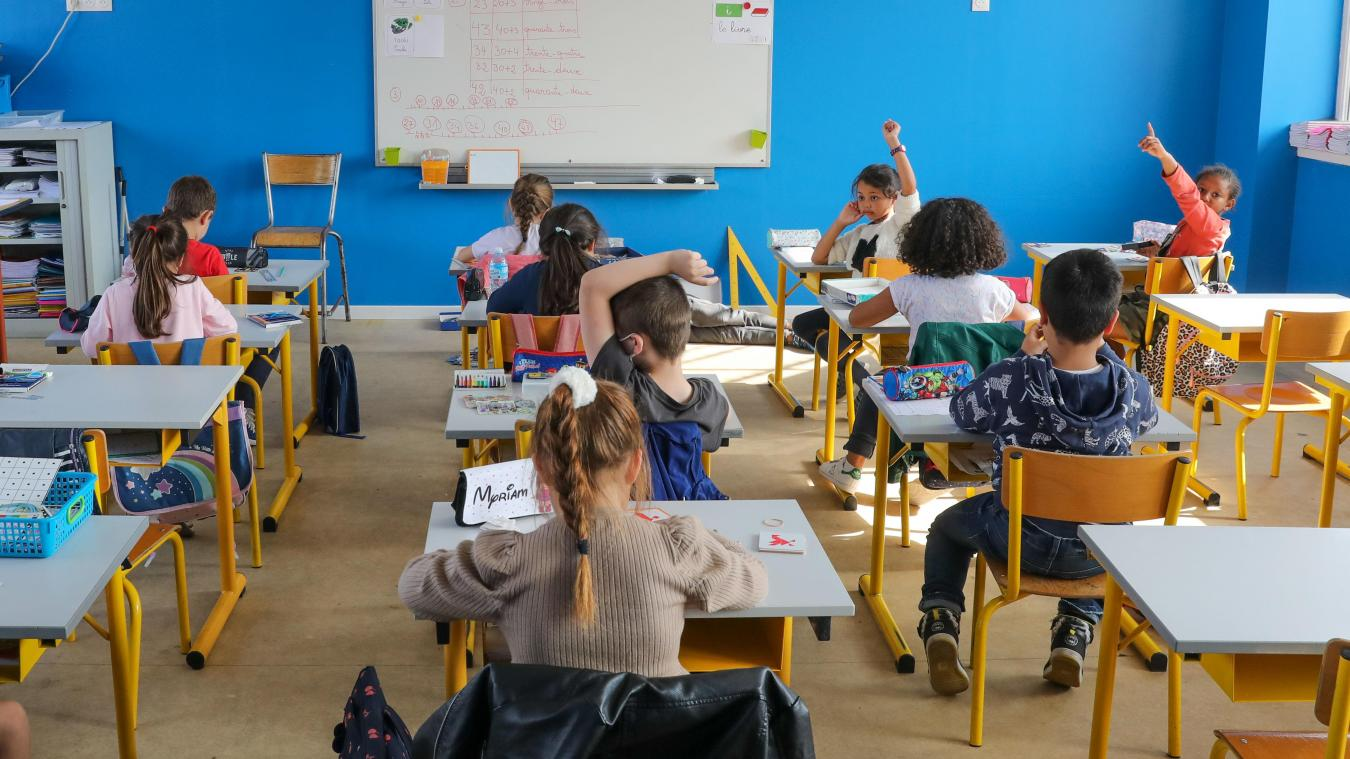 Les enfants pourraient ne retrourner à l'école que mardi 3 novembre.