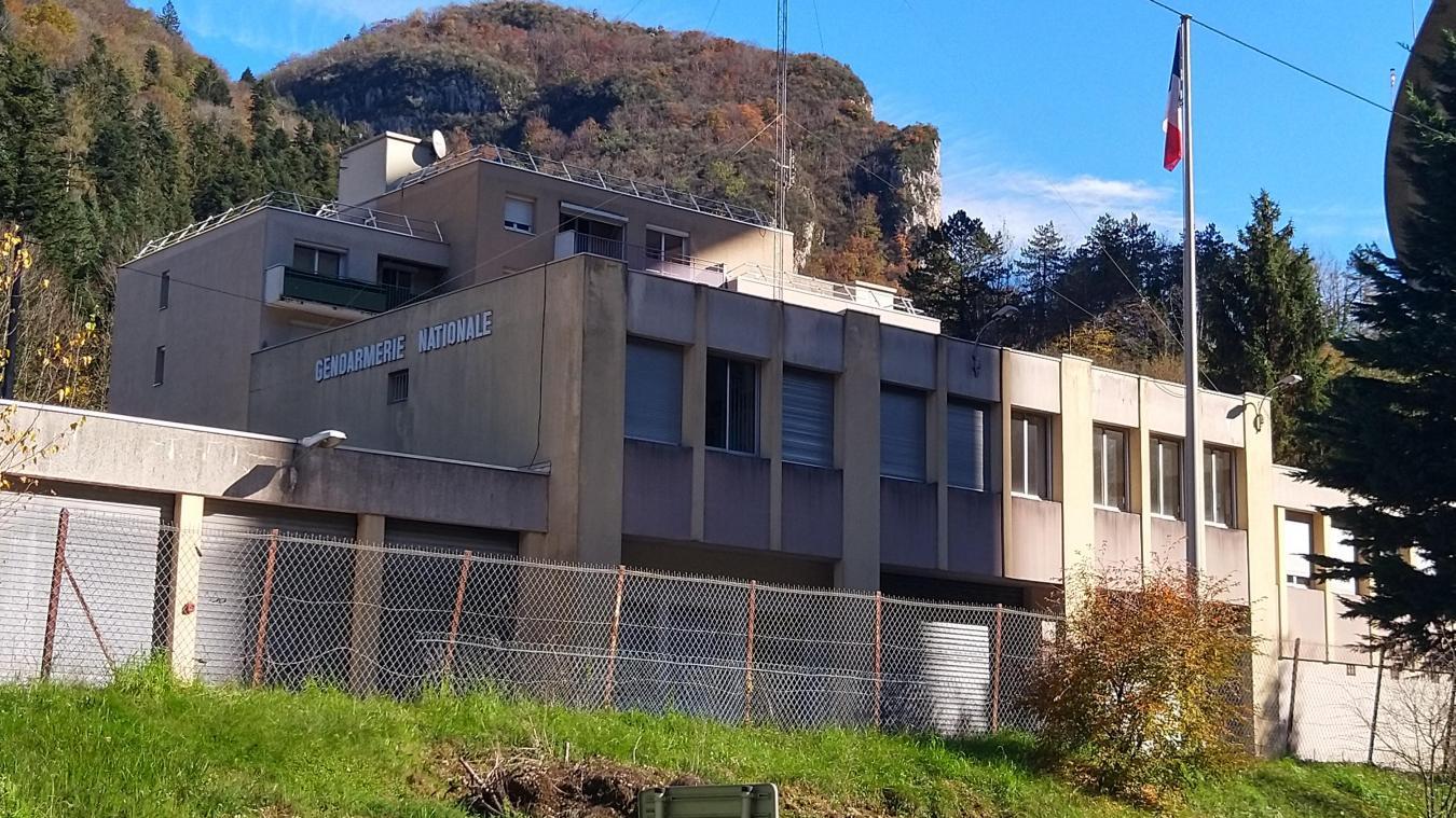 La caserne de gendarmerie de Nantua.