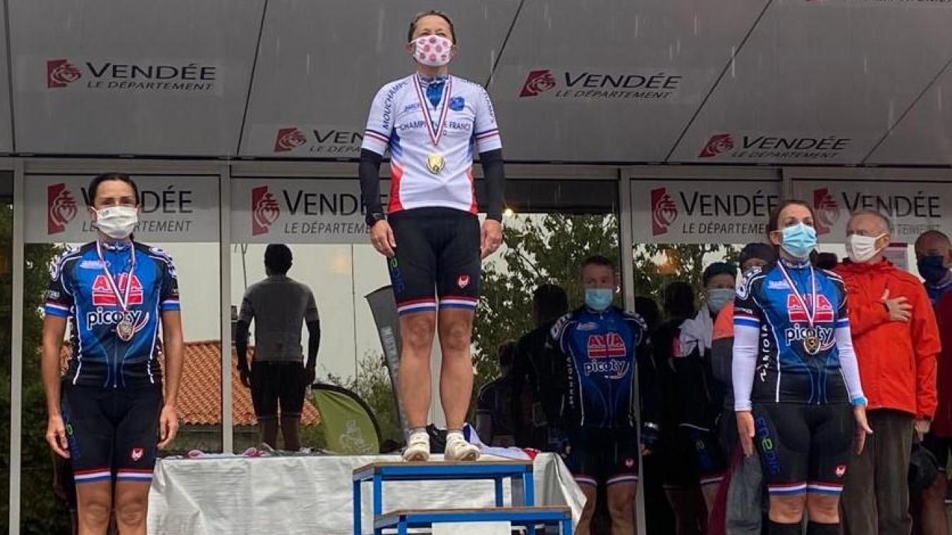 Cruseilles : Aline Seiller, une gendarme championne de France cycliste