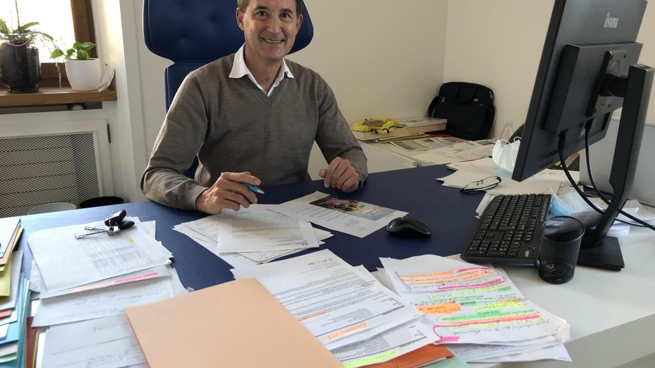 En ce début de mandat, Jean-Claude Georget est bien occupé. Les dossiers se succèdent...