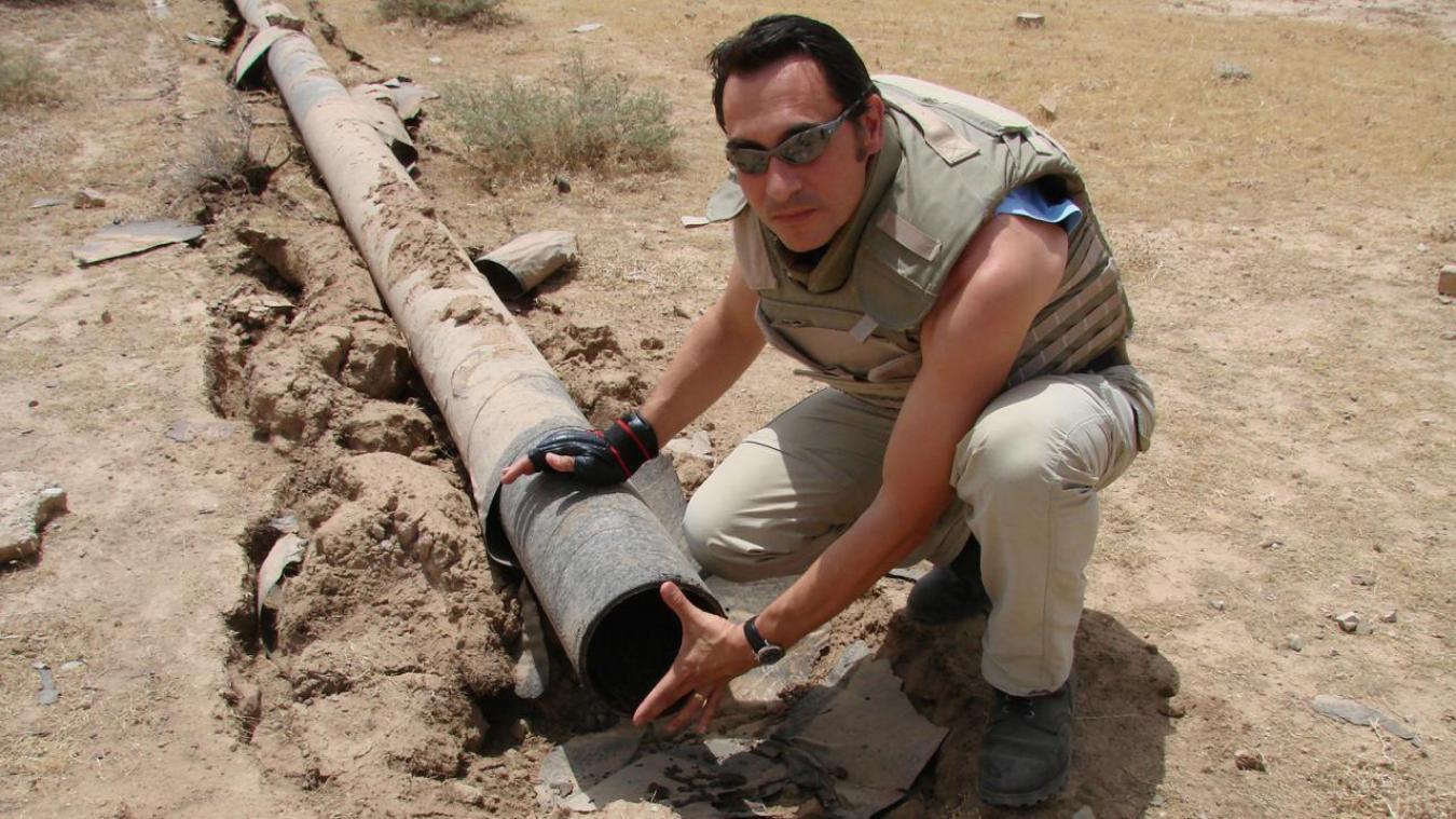 A la fin de l'année 2005, Marc Eichinger a posé pied en Irak, dans la province de Kirkouk.