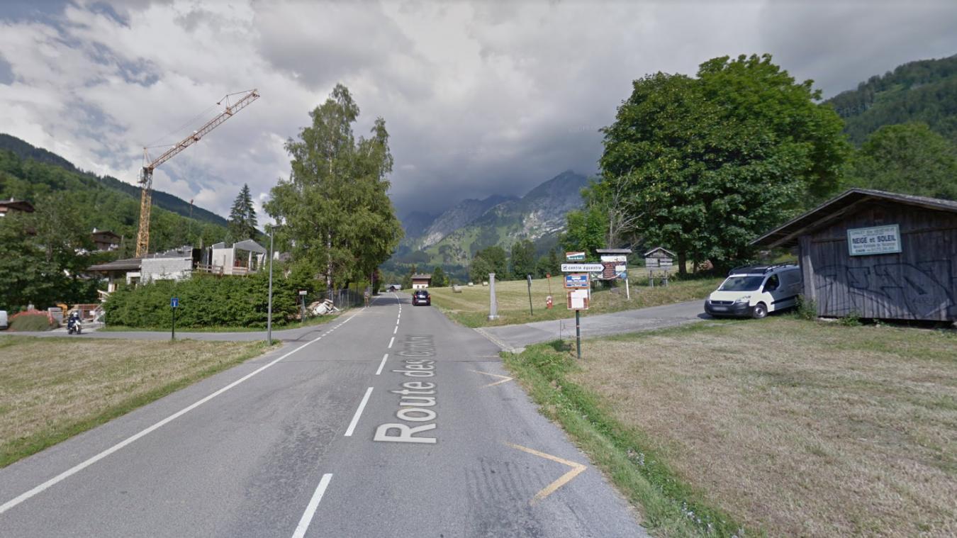 L'accident s'était produit sur la route des Confins.