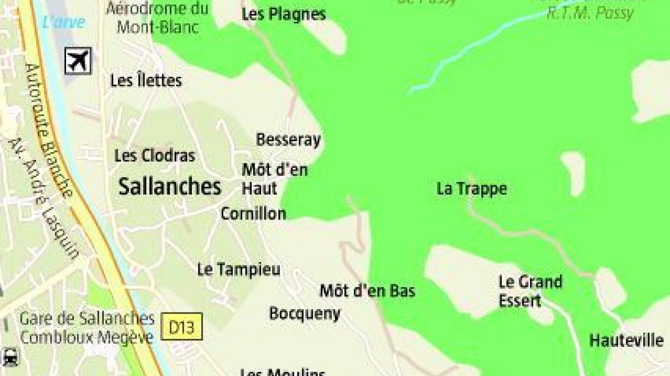 Sallanches: un homme de 70 ans décède à proximité de la cascade de Reninge