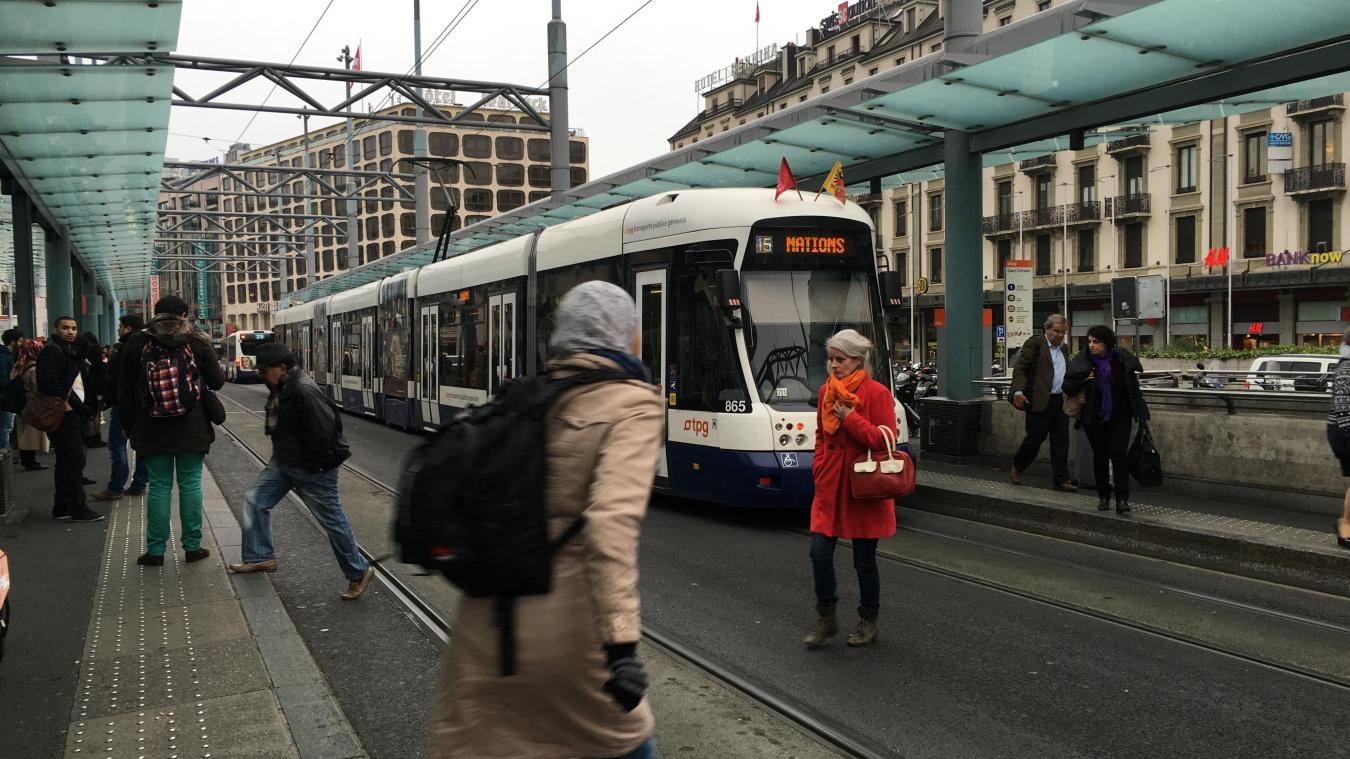 Le tram de Saint-Julien sera en fait une extension de la ligne 15 du tramway de Genève.