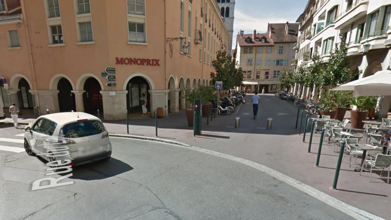 Un SDF de 41 ans a été placé en garde à vue, lundi 2 novembre 2020 à Annecy, après avoir été pris en train de voler dans un supermarché.